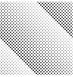 monochrome abstract seamless circle pattern vector image