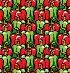 Paprika background vector