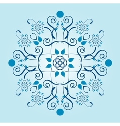 Pattern with floral elements vector