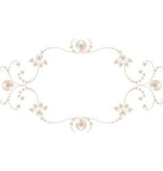 Pearl frame vector