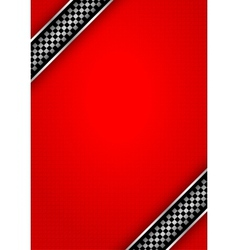 Background red - race vector image vector image