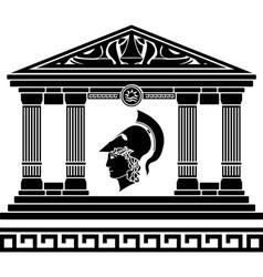 temple of alexander vector image