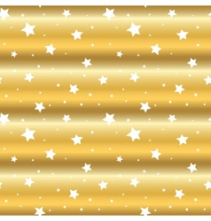 stars gold background cartoon white wave vector image vector image