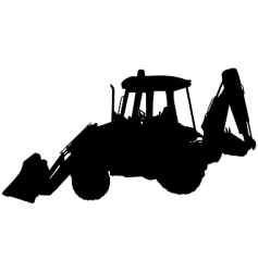 digger vector image vector image