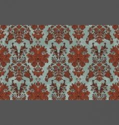 hand drawn damask pattern vector image vector image