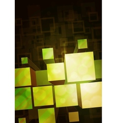 yellow-green background vector image