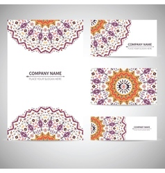 Business ctemplate in native vector image