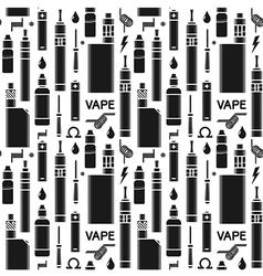 Endless vape background vector image