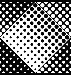 geometrical abstract black and white circle vector image