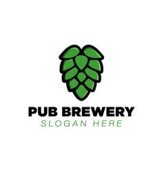 Pub brewery logo ideas inspiration logo design vector