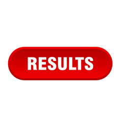 Results button results rounded red sign results vector