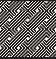 Seamless pattern interweaving thin lines vector