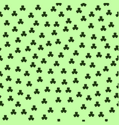 Shamrock pattern seamless vector