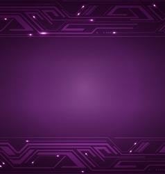 Technology Violet Background vector