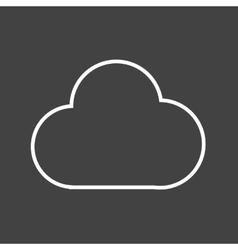 Cloudapp vector image vector image