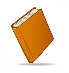 cartoon book vector image