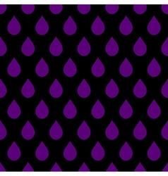 Purple Black Water Drops Background vector image