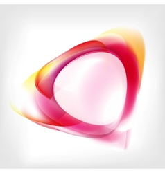 Abstract wave on background vector image vector image