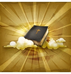 Bible old style background vector
