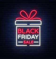 black friday isolated poster banner in vector image