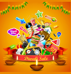 Diwali Festive Offer vector