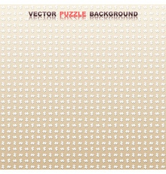 seamless vector puzzle background vector image