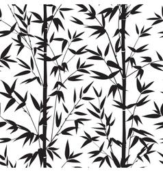Bamboo seamless pattern vector image vector image