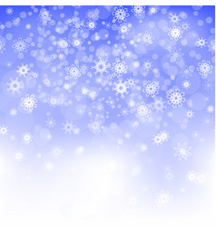 show flakes winter christmas blurred texture vector image