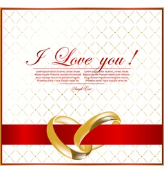 abstract wedding background for design vector image