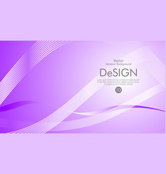 abstract background color flow waved lines stock vector image
