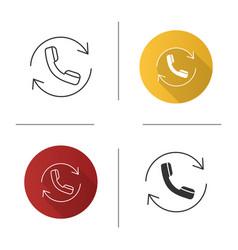 Calling icon vector