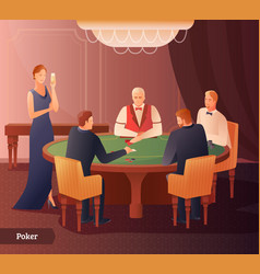 casino and poker vector image