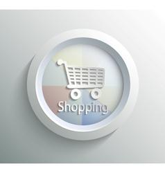 Icon shoping vector