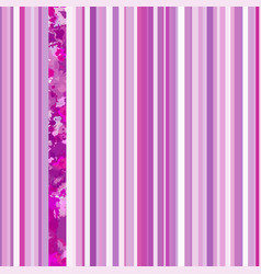 Seamless vertical lines pattern pink vector