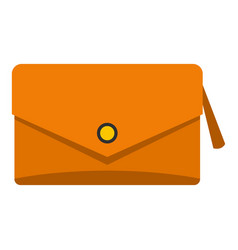 Small bag icon isolated vector