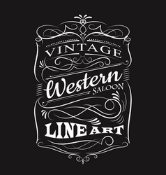 vintage label typography t-shirt design vector image