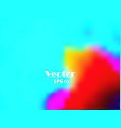 Vivid summer colorful gradient abstract bac vector