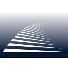 Zebra crossing background vector