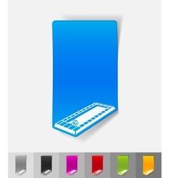 realistic design element swimming pool vector image