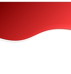 Red and White Blank Abstract Background vector image vector image