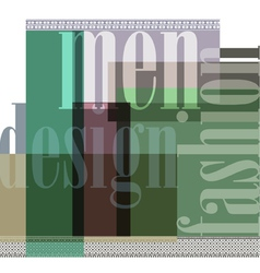 Fashion abstract background vector image vector image