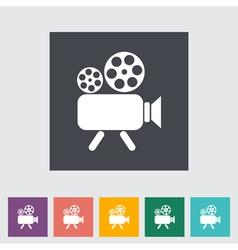 Video cam vector image vector image
