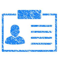 badge grunge icon vector image