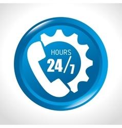 Call center customer service vector