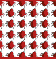 Color pattern with beetle virus vector