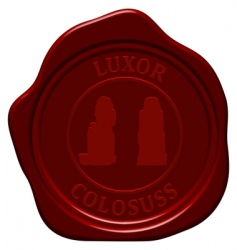 colossus sealing wax vector image vector image
