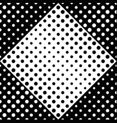 geometrical black and white circle pattern vector image