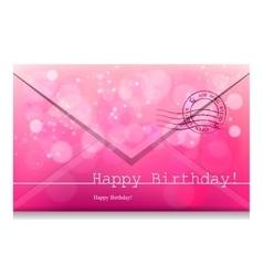 Happy Birthday bw vector