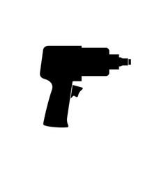 Impact driver icon vector