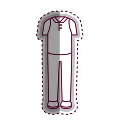 Man dress casual icon vector